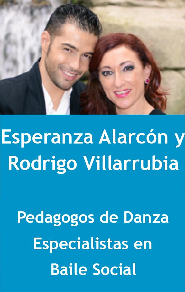 Esperanza Alarcón y Rodrigo Villarrubia